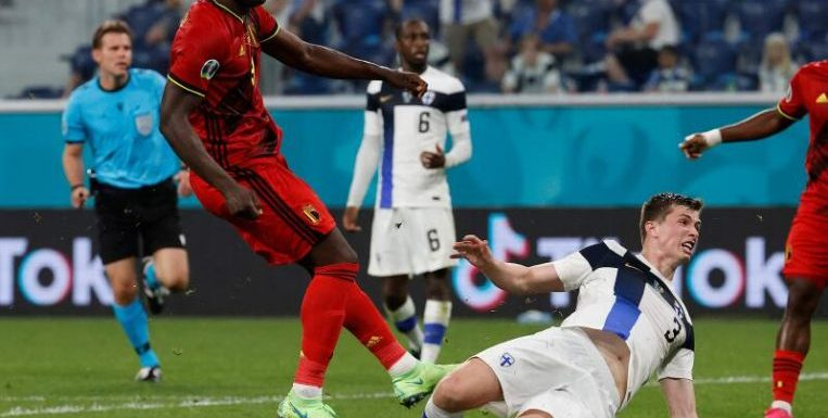 Football: Belgium beat Finland 2-0 to secure third win