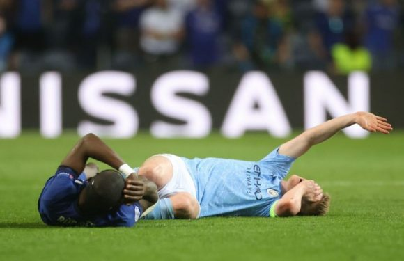 Football: De Bruyne says dead feeling in face won't affect his play
