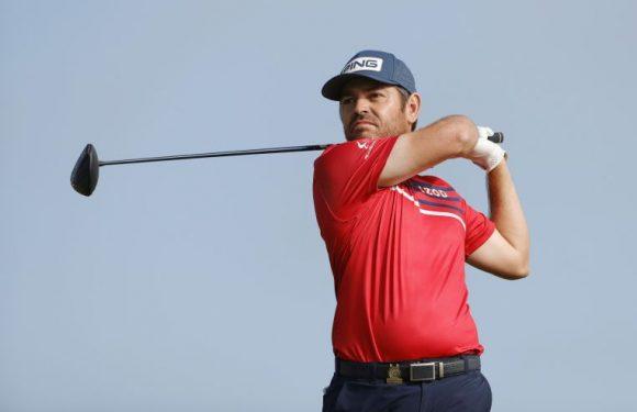 Golf: Oosthuizen in three-way tie for US Open lead