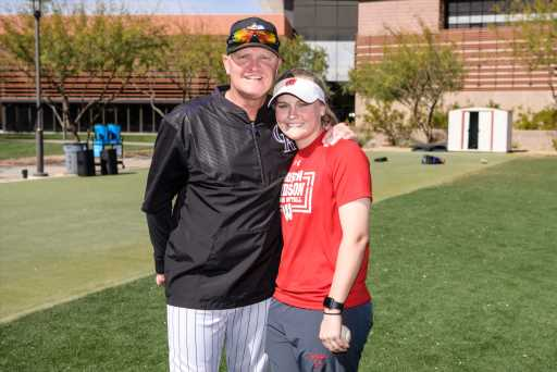 How the Rockies' Steve Foster instilled a love of the game in his daughter Lauren