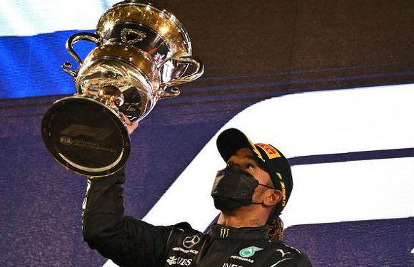 Lewis Hamilton 'willing to take pay cut'… but 'wants bonus DOUBLED'