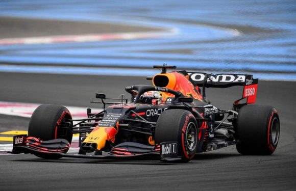Motor racing: Verstappen sets pace in last French GP practice, Hamilton fifth almost a second off
