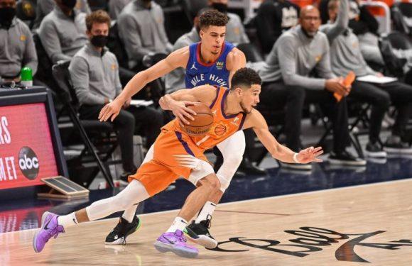 NBA: Suns slam Nuggets again for 3-0 series lead, 76ers grab edge with win at Atlanta