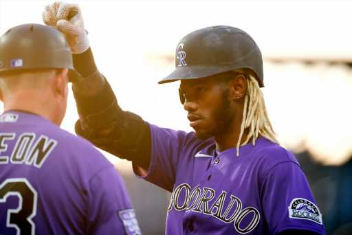 """The secret to Raimel Tapia's 17-game Rockies hitting streak? A pizza superstition: """"I like bacon, extra cheese and pepperoni."""" – The Denver Post"""