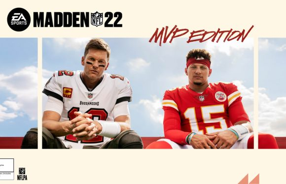 Two G.O.A.T.s: Tom Brady, Patrick Mahomes share 'Madden NFL 22' cover