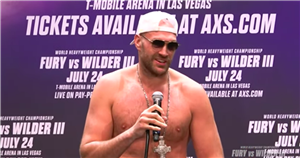 Tyson Fury hopes history repeats itself with bold Wilder fight prediction