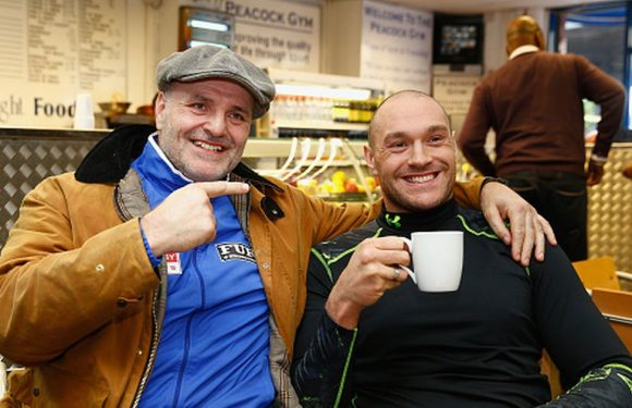 Tyson Fury responds to his dad's 'conspiracy theories' over Deontay Wilder fight