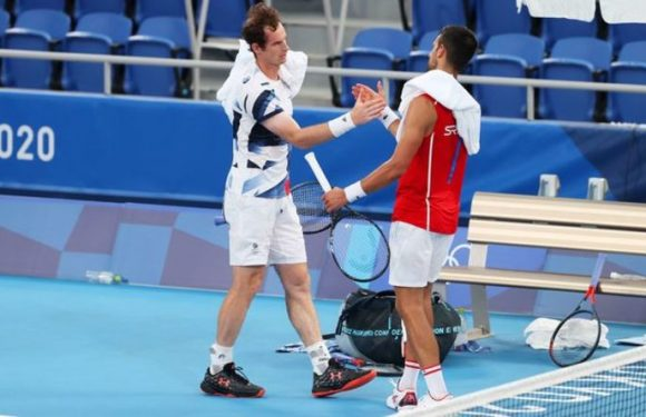Andy Murray sent Olympics message from Novak Djokovic as Brit bids for third gold