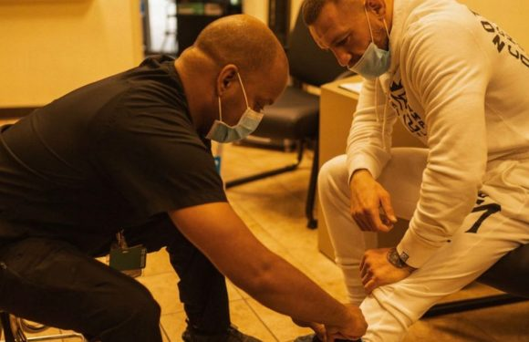 Conor McGregor shares photos to prove he was injured before Dustin Poirier loss