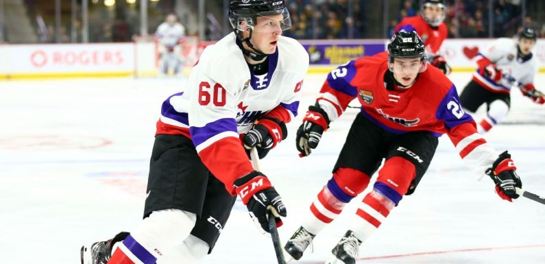 Hockey world shows support after Luke Prokop announces he's gay