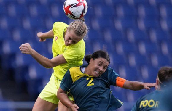 Kerr scores two but misses penalty as Matildas slump to defeat against Sweden