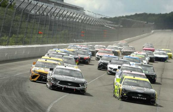 NASCAR lineup at Pocono: Starting order, pole for Saturday's race without qualifying