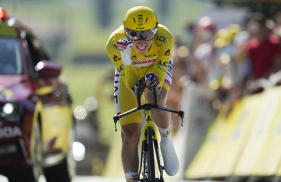 Pogacar set to win back-to-back Tour de France titles