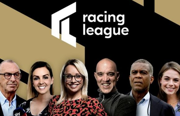 Racing League: David 'Bumble' Lloyd and Michael Holding join Sky Sports Racing team for ground-breaking competition