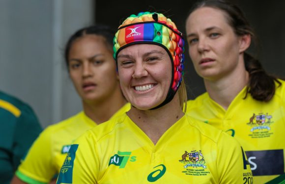 Rugby star who snubbed Folau to wear rainbow headgear at Olympics