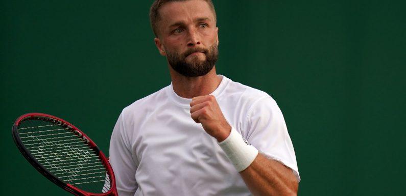 Tokyo Olympics: Liam Broady added to Team GB tennis squad