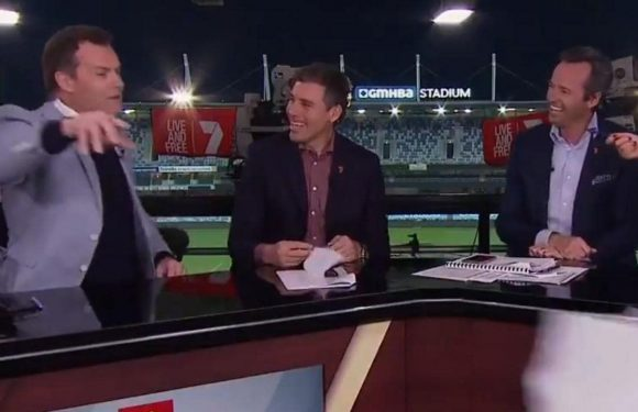 'This is a disgrace': Channel 7 star's heart broken on live TV