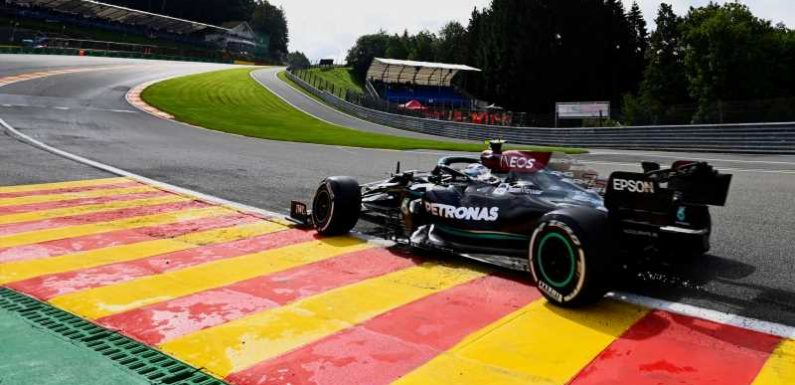 Belgian GP: Valtteri Bottas ahead of Max Verstappen in Practice One, Lewis Hamilton 18th after near-miss