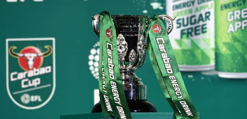 Carabao Cup draw in full as Man Utd, Chelsea, Liverpool and Arsenal learn fate