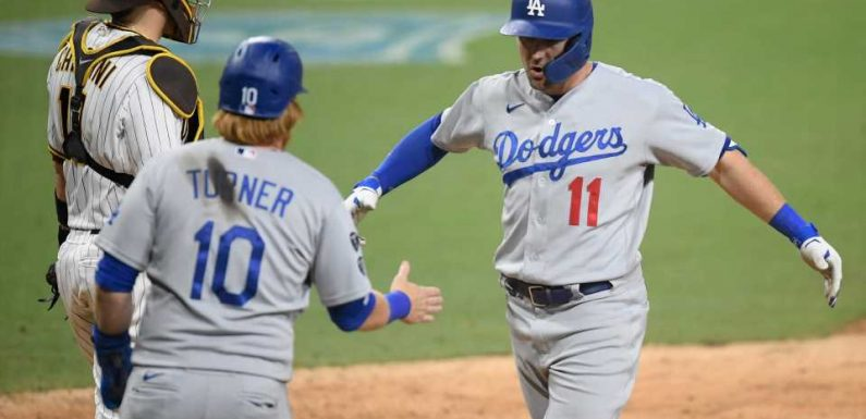 Dodgers defeat Padres in longest extra-innings game since runner-on-second rule: 'This was really weird'