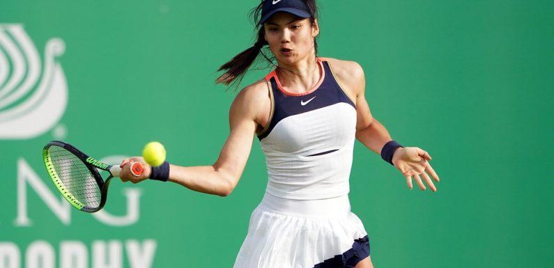 Emma Raducanu breezes through first round of US Open qualifying