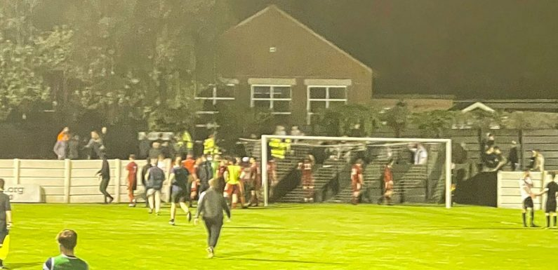FA Cup game abandoned in 90th minute as 'fight' breaks out between players