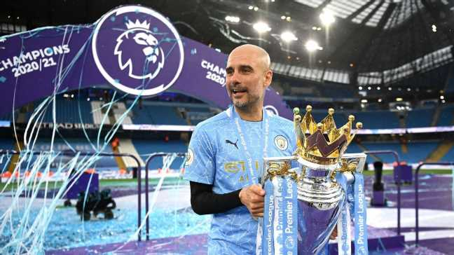 Guardiola set to leave Man City in 2023
