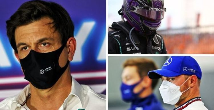 Lewis Hamilton confirms Toto Wolff conversations over Valtteri Bottas and George Russell