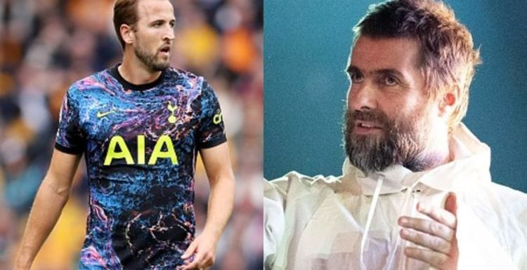 Liam Gallagher aims sly dig at Harry Kane after Man City transfer falls through