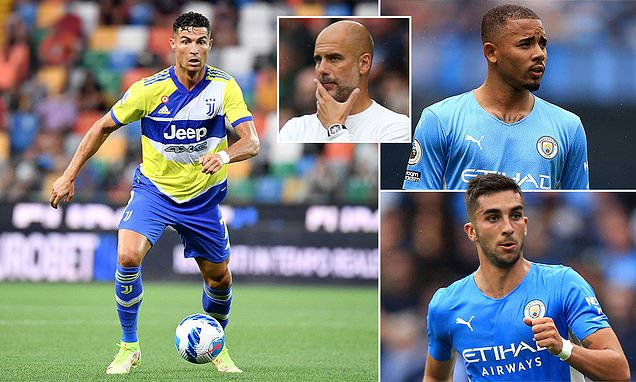 Man City's forward options after missing out on Kane