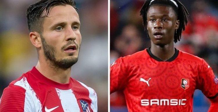 Man Utd bosses hold Eduardo Camavinga or Saul Niguez transfer belief as deadline nears