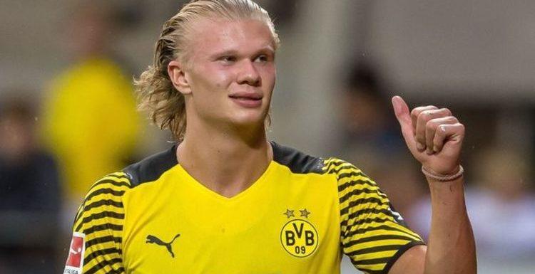 PSG plan blockbuster last-minute Erling Haaland transfer bid with £138m Kylian Mbappe fee