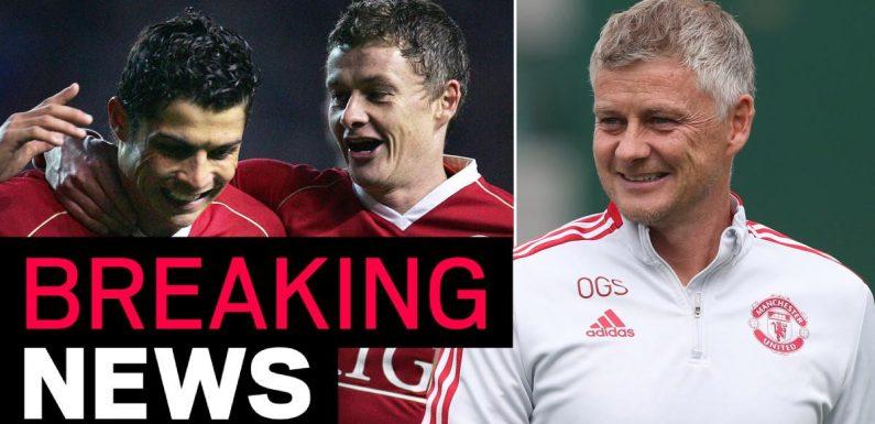 Solskjaer makes public plea for Cristiano Ronaldo to rejoin Man Utd