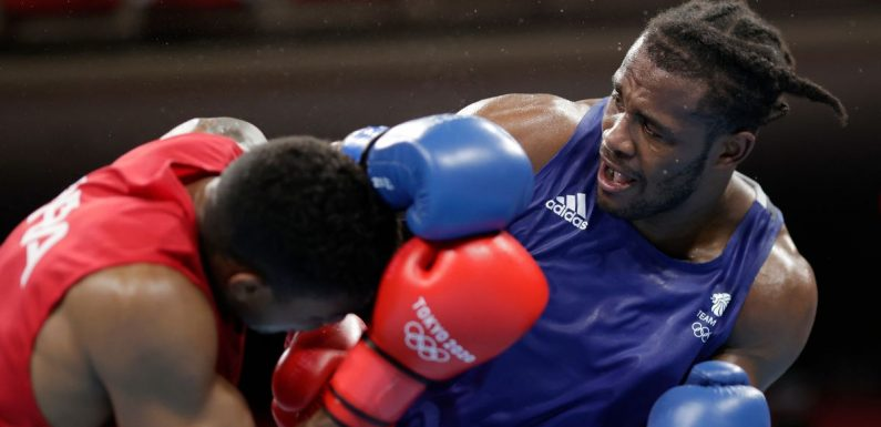 Team GB boxer weighs up pro move after mixed emotions of Tokyo 2020