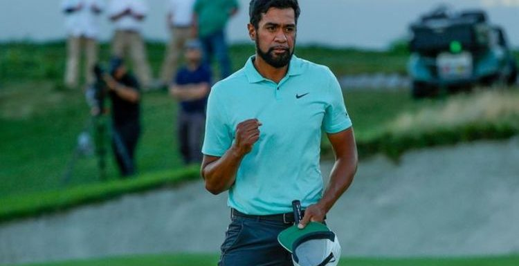 Tony Finau celebrated first PGA Tour win in five years with 3:00am McDonald's meal