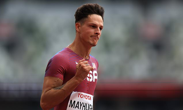 USA's Mayhugh and Weggemann BOTH take world records in Tokyo heats