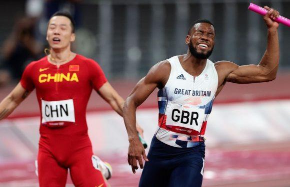 Zharnel Hughes breaks silence on CJ Ujah doping scandal as GB face losing medal
