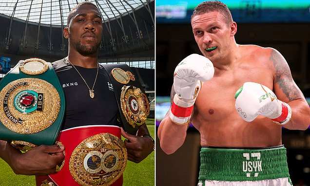 AJ vs Usyk: Date, how to watch, UK start time and undercard
