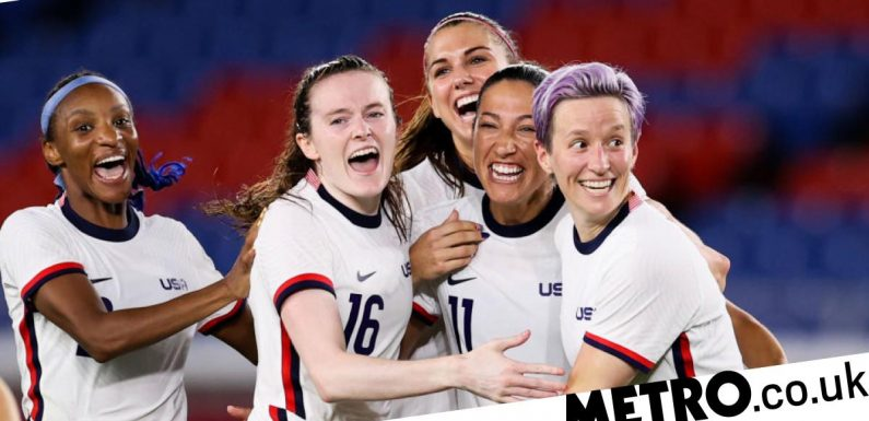 America's female football stars take significant step towards earning equal pay