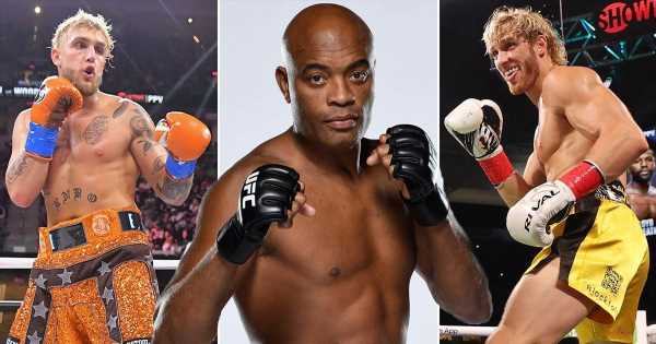 Anderson Silva fuels speculation that he could fight Logan or Jake Paul