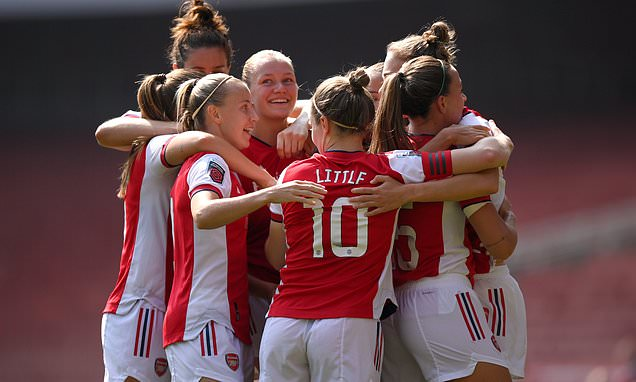 Arsenal 3-2 Chelsea: The Women's Super League champions are defeated