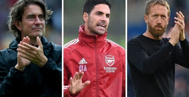 Arsenal 'line up Thomas Frank and Graham Potter' as potential Mikel Arteta replacements