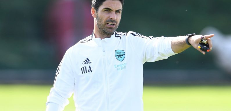 Arsenal news: Feyenoord manager questions intensity of Mikel Arteta's training after Reiss Nelson injury