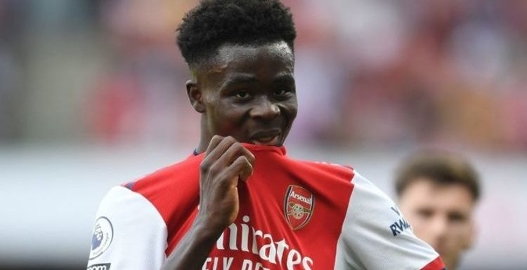 Arsenal star Bukayo Saka 'approached by clubs' as Gunners decide transfer stance