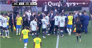 Brazil vs Argentina suspended after health officials storm pitch over Covid saga