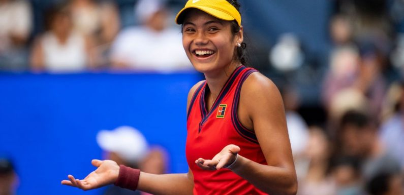 British teen Emma Raducanu keeps impressing en route to US Open quarterfinal berth