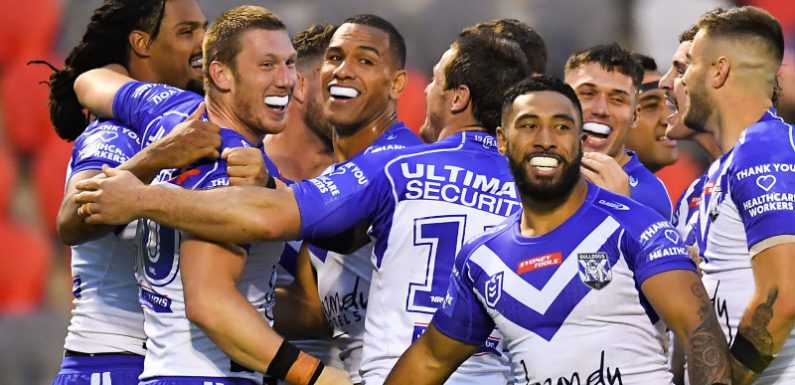 Bulldogs thrashing turns up pressure on Tigers coach Maguire