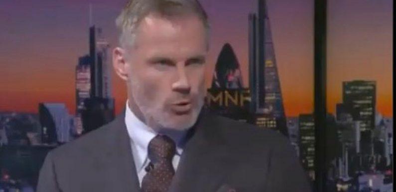 Carragher's full MNF argument with Neville over Ronaldo vs Messi debate