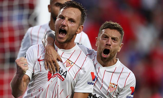 Champions League round-up: Red Bull Salzburg held by 10-man Sevilla