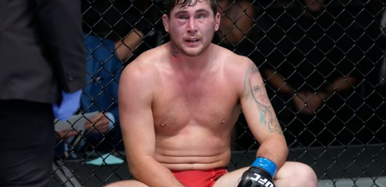 Coach: Till entered Brunson fight with torn ACL